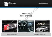 car solutions rns e pu manuals rh manualslib com Audi A4 B6 Audi Nav System