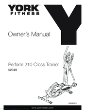 York Fitness 52049 Owner's Manual