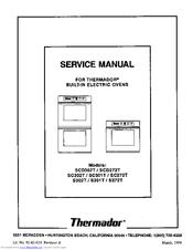 thermador sc302t manuals rh manualslib com thermador rdss30 service manual prg304us thermador service manual