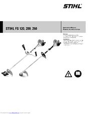 Stihl FS 200 Manuals