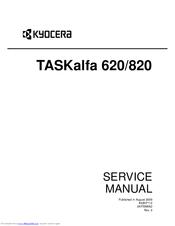Kyocera TASKalfa 620 Manuals
