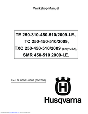 Husqvarna TXC 450 2009 Workshop Manual