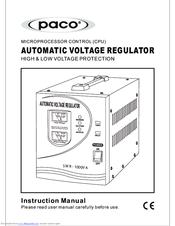 Paco SWR-500VA Manuals