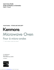 Kenmore 970-8617 Use & Care Manual