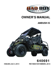 Bad Boy Ambush IS Manuals Bad Boy Ambush Wiring Diagram on bad boy parts diagram, bad boy accessories, bad boy horn diagram, lawn boy wiring diagram, bad boy controller diagram,