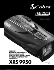 cobra radar detector instructions