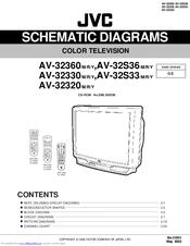 jvc av 32360 schematic diagram pdf download rh manualslib com