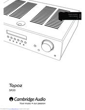 cambridge audio topaz sr20 manuals rh manualslib com cambridge audio s90 subwoofer manual Cambridge Audio Stream Magic 6