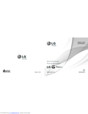 LG LG-V700 Quick Start Manual