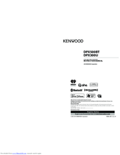 Kenwood DPX300U Instruction Manual