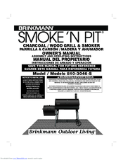 brinkmann smoke n pit 810 3046 s manuals rh manualslib com