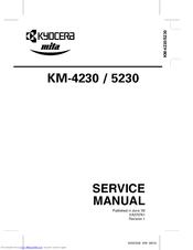 Kyocera KM-5230 Manuals