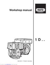 hatz diesel 1d80 s manuals rh manualslib com BMW Workshop Manual Professional Workshop Manuals