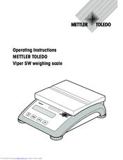 mettler toledo viper sw manuals rh manualslib com Mettler-Toledo Scales Mettler-Toledo Logo