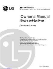 lg dlg2526w manuals rh manualslib com lg tromm washer and dryer user manual lg tromm gas dryer service manual