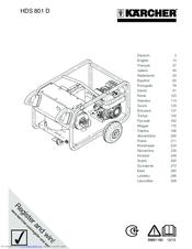 karcher de4002 steam cleaner instruction manual