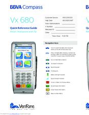 verifone hicaps vx680 manuals rh manualslib com VeriFone Vx520 Paper VeriFone Vx805