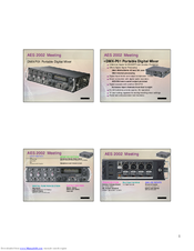 Sony DMXP01 Manuals