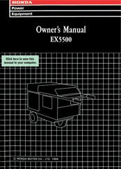 honda ex5500 wiring diagram honda ex5500 owner s manual pdf download  honda ex5500 owner s manual pdf download