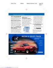 mazda 2005 b series truck manuals rh manualslib com 2015 Mazda 3 Hatchback 2010 Mazda SUV