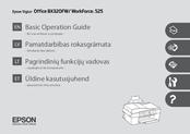 Epson Stylus Office BX320FW Basic Operation Manual