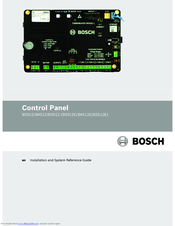 Bosch B3512E Reference Manual