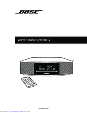 bose wave music system iv owner s manual pdf download rh manualslib com bose wave radio cd owner's manual Troubleshooting Bose Wave Radio CD
