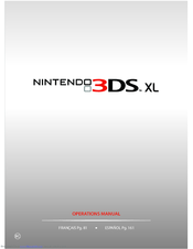nintendo 3ds xl manuals rh manualslib com manual do nintendo dsi xl em portugues nintendo ds xl instruction manual