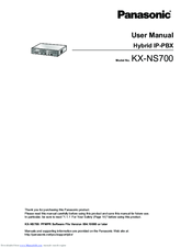panasonic kx ns700 manuals rh manualslib com User Guide Icon User Guide Icon