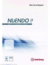 Steinberg nuendo 3 remote control devices manual german version.