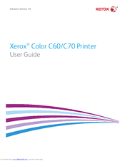 Xerox Color C70 Series Manuals