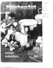 kitchenaid mixer instruction manual