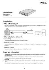 NEC SB-L008KU User Manual
