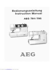 инструкция Aeg 795 - фото 2