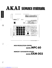 akai mpc 60 manuals rh manualslib com mpc60 3.10 manual akai mpc 60 ii manual