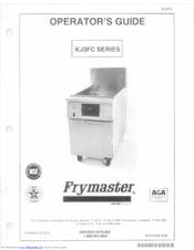 frymaster kj3fc manuals