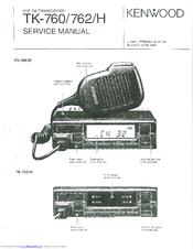KENWOOD TK-760 SERVICE MANUAL Pdf Download