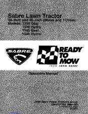 sabre lawn tractor manual