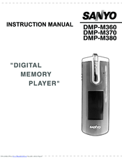 Sanyo DMP-M370 Instruction Manual