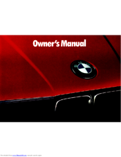 1995 bmw 325i owners manual pdf download