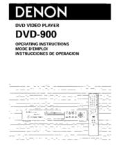 denon dvd 900 manuals. Black Bedroom Furniture Sets. Home Design Ideas