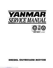 yanmar d27 d36 series diesel outboard motor operation manual download