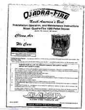 Quadra-fire 1000 Clic Manuals on