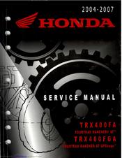 honda trx400fa service manual pdf download rh manualslib com 2006 trx400fa service manual pdf honda trx400fa service manual pdf