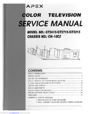 apex digital gt2715 manuals rh manualslib com Auto Repair Manual Parts Manual