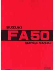 suzuki fa50 service manual pdf download rh manualslib com 1983 suzuki fa50 owners manual suzuki fa50 repair manual