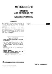 mitsubishi 4g93 sohc workshop manual pdf download rh manualslib com 4G93 Carborator 4G92 Mivec