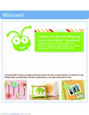 cricut mini manuals rh manualslib com Cricut Create Manual cricut mini user guide