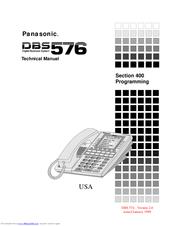 panasonic dbs 576 manuals rh manualslib com panasonic dbs 824 programming manual Aston Martin DBS 1969