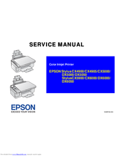 epson stylus cx5900 series manuals rh manualslib com Epson Inkjet Printers Epson Stylus Ink Cartridges